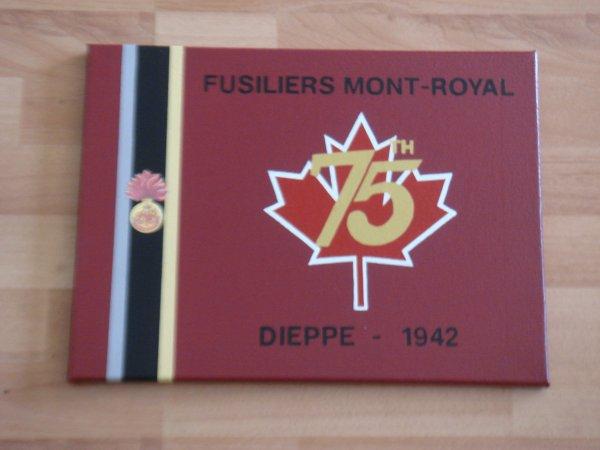 Panneau pour le 75th anniversaire du débarquement de DIEPPE en 1942 ( Pour Philou ) ....