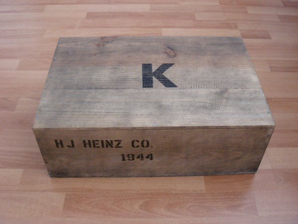 Caisse : RATION K - HJ HEINZ & Co - 1944  ....