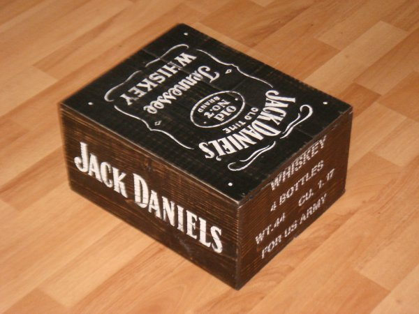 Caisse IN BLACK - JACK DANIELS