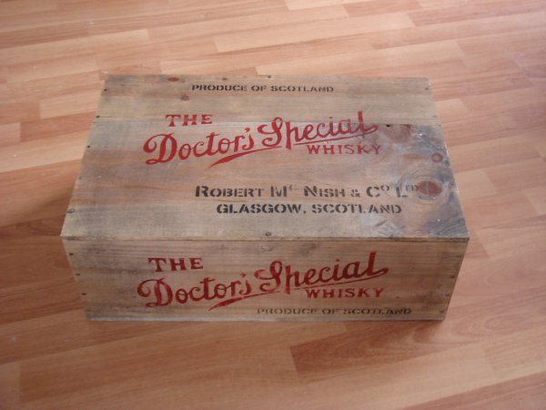 Caisse WHISKY : THE DOCTOR SPECIAL