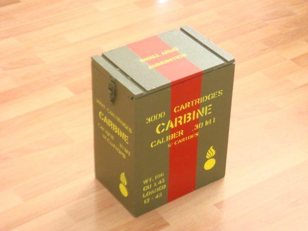 Caisse munitions ( Pour Dom ) ...