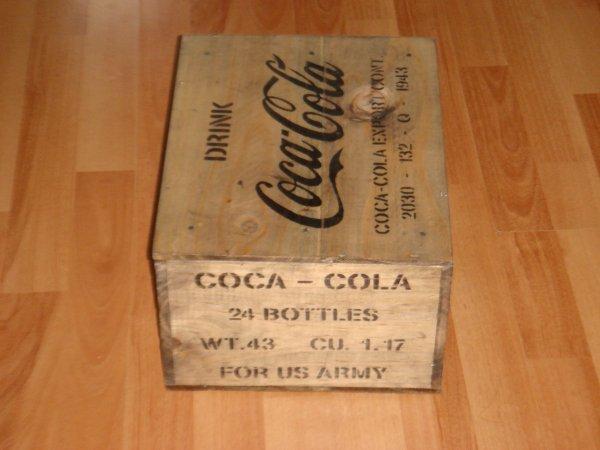 Caisse COCA-COLA ....