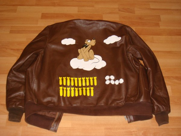 "Blouson ""THE WOLF OF CLOUDS"" (Pour anthony ) ...."