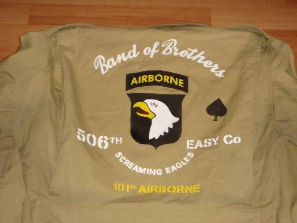 Veste M 41 - 101 Airborne ( pour Christian ) ....