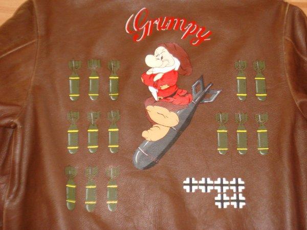 """Blouson """"GRUMPY"""" ( Pour antho - MVCG Aquitaine ) ..."""