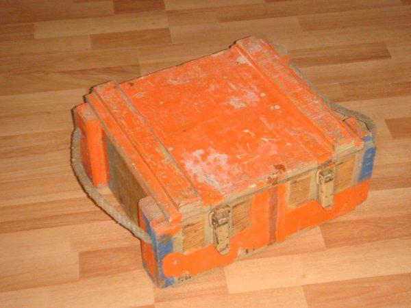 Restauration d'une caisse ....