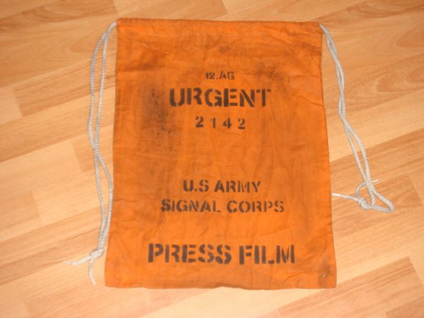 Sac photographe US WW2 ....
