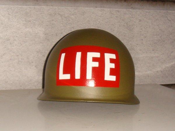 Casque : WAR - CORRESPONDANT - LIFE  ( Pour François ) ....