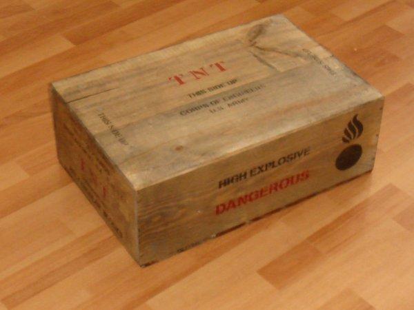 Caisse TNT - Type US ...