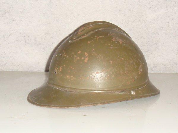 Restauration d'un casque ADRIAN ( pour le Fréro ) ....