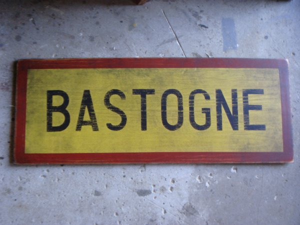 "Let's go to ""BASTOGNE""...."