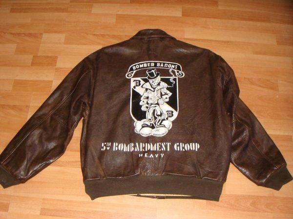 Flying jacket - BOMBER BARONS ( 2éme blouson pour Jean ) ....