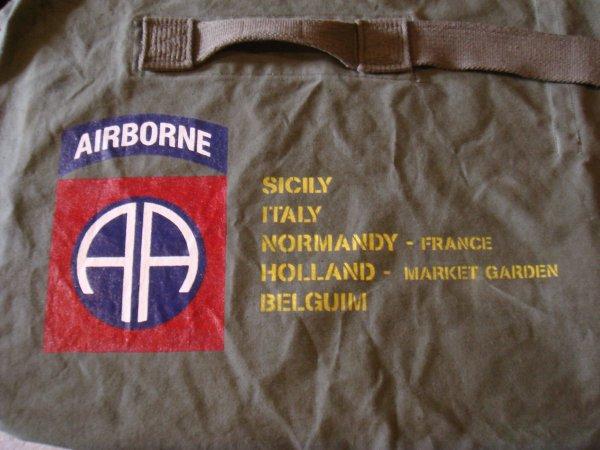 Sac paco : 82nd AIRBORNE - 505th P.I.R ( Pour Benoit .... )