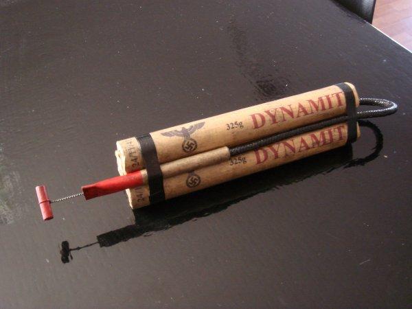 Conception de bâtons TNT allemand ( Pour Giovanni ) ...