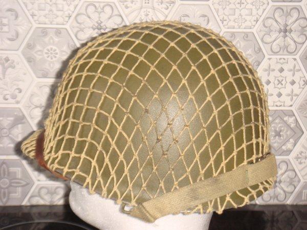 Casque infanterie US ( VMHV ) ....