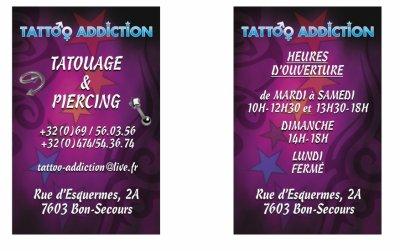 Tattoo Addiction Bonsecours