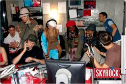 BLACK EYES PEAS/SKYROCK