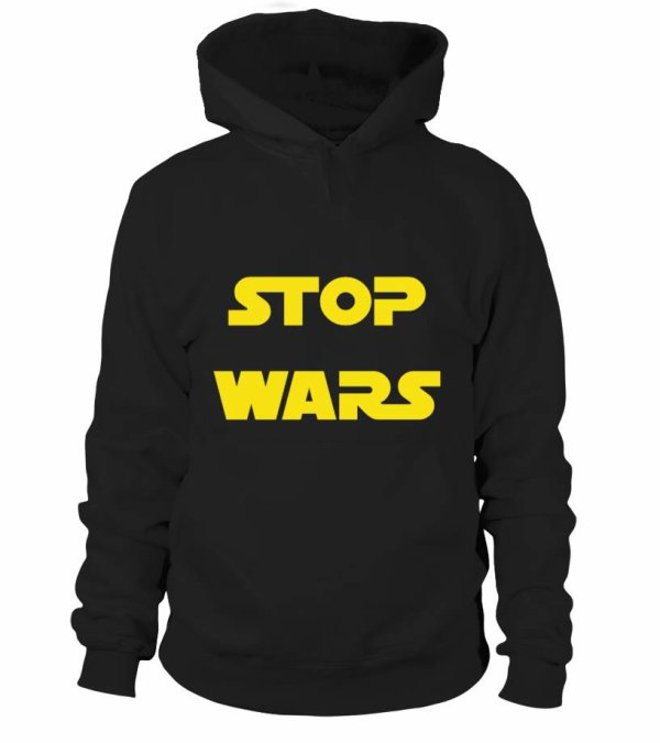 STOP WARS sweat a capuche