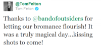 * Tom Felton : Band of Outsiders Photoshoot *