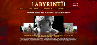 * Tom Felton : Labyrinth Event *