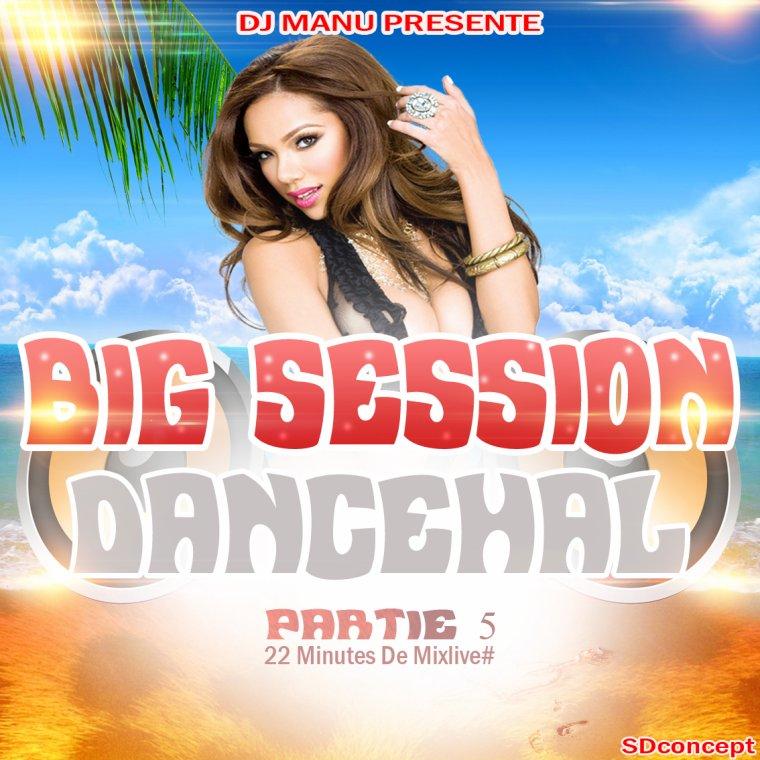 ★ DJ MANU BIG SESSION DANCEHALL PARTY 5 ★