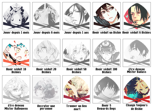 BISHIES GAME // Nombre de personnages 13