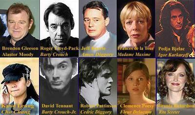 Nouveau personnages l 39 univers de harry potter - Acteur harry potter et la coupe de feu ...