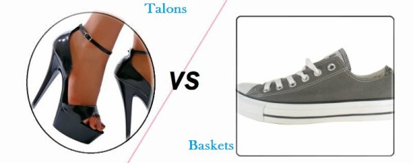VS 9 : Talons / baskets