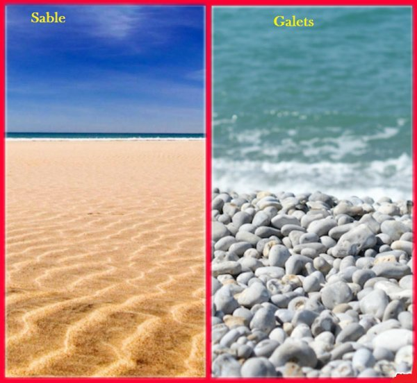 VS 22 : Sable / galets