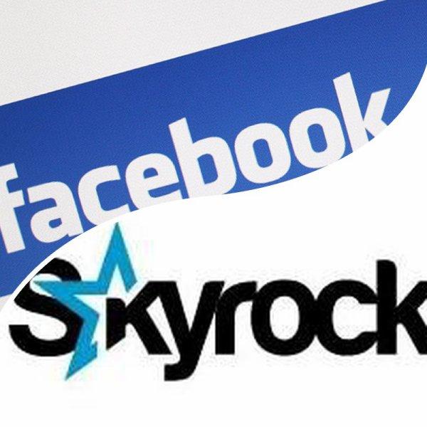VS 25 : Facebook / Skyrock