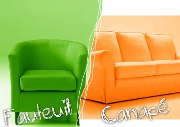 VS 26 : Fauteuil / canapé