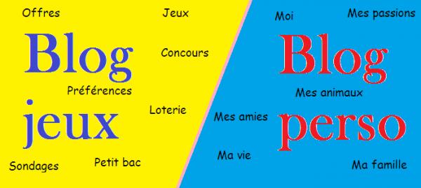 VS 35 : Blog jeux / blog perso