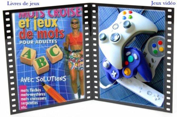 VS 36 : Livres de jeux / jeux vidéo