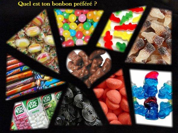 Sondage 66 : Bonbons