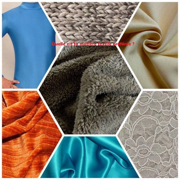 Sondage 75 : Matières textiles