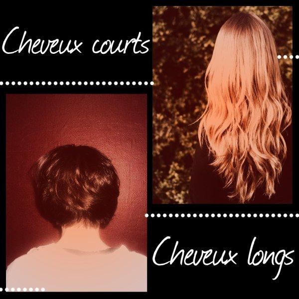 VS 41 : Cheveux courts / cheveux longs