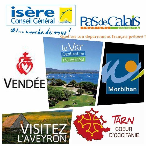 Sondage 86 : Départements français
