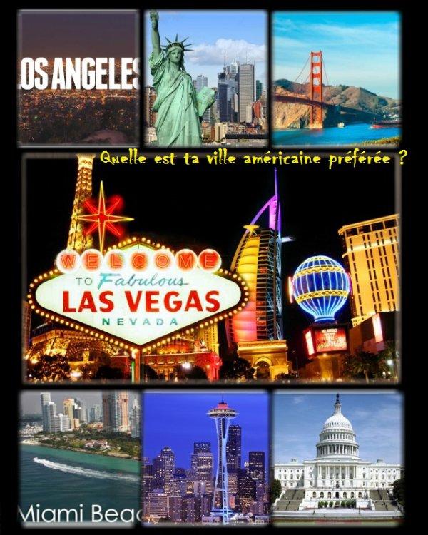 Sondage 88 : Villes américaines