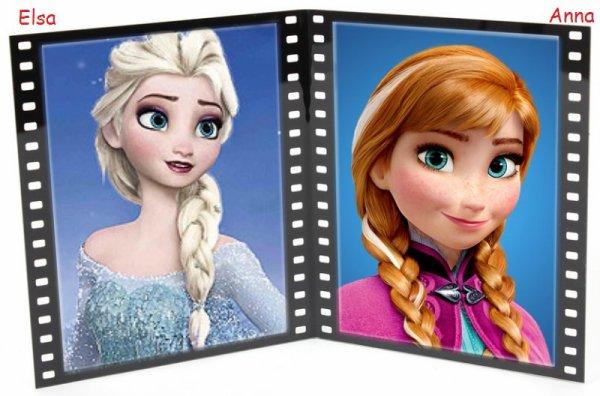 VS 44 : Elsa / Anna