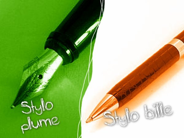 VS 45 : Stylo plume / stylo bille