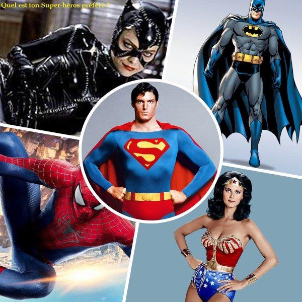 Sondage 103 : Super-héros