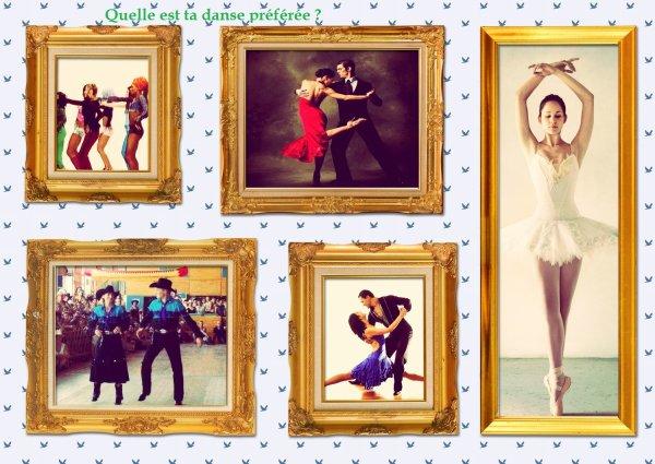 Sondage 105 : Danses