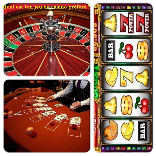 Sondage 126 : Jeux de casino