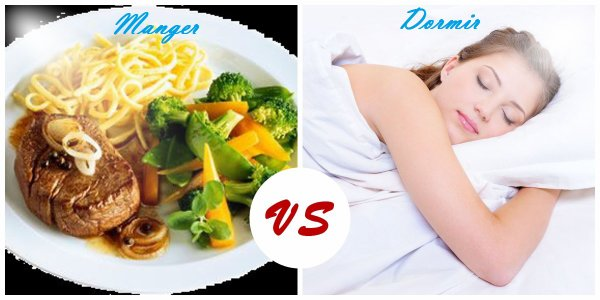 VS 54 : Manger / dormir