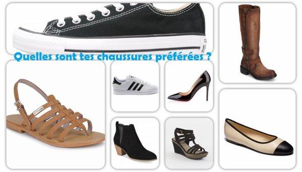 Sondage 131 : Chaussures