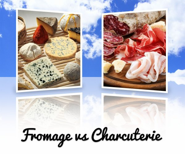 VS 55 : Fromage / charcuterie
