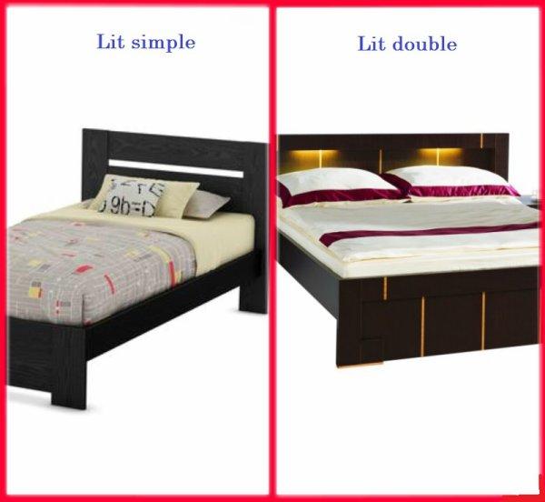 VS 56 : Lit simple / lit double