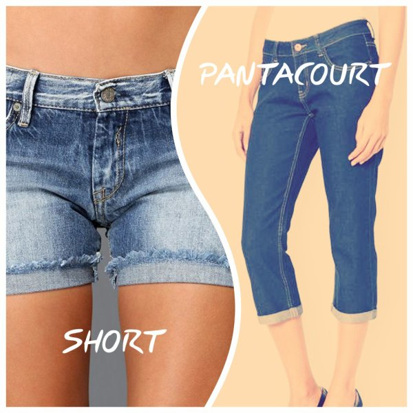 VS 60 : Short / pantacourt