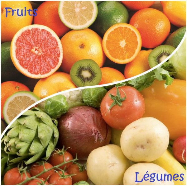 VS 61 : Fruits / légumes