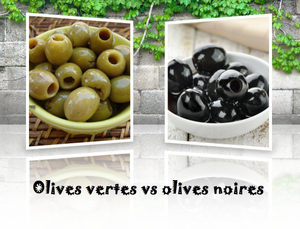 VS 63 : Olives vertes / olives noires